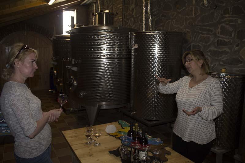 Shaloshvili wine cellar